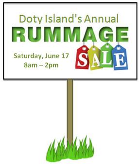 Doty Island Rummage Sales