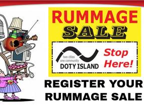 Having a Rummage Sale?