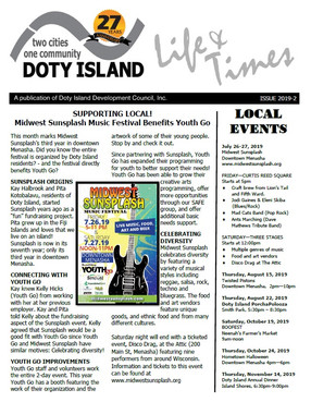 Newest Doty Island Newsletter