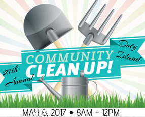 Join Us for Doty Island Cleanup