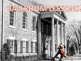 BALLROOM LESSONS AT THE MEMORIAL BUILDING