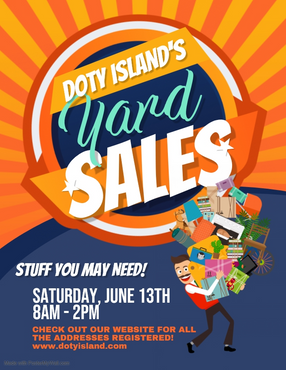 Doty Residents - Register Your Rummage Sale!