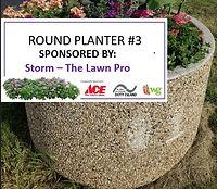 Round Planter #3 - Storm The Lawn Pro.jp