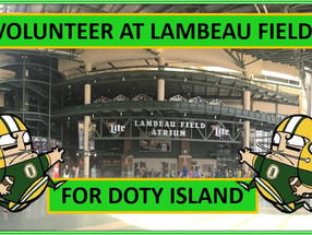 Volunteer at a Packer Game                              (for Doty Island)
