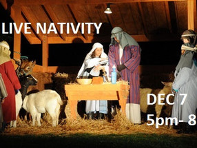 Check out the Live Nativity