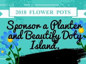 Flowers Beautify Doty Island