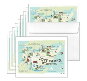 Doty Island Prints & Note Cards