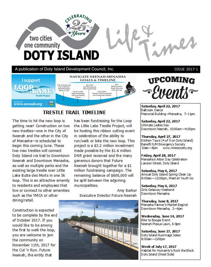Doty Island Newsletter