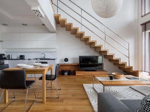 Moderne trapp - husets smykke
