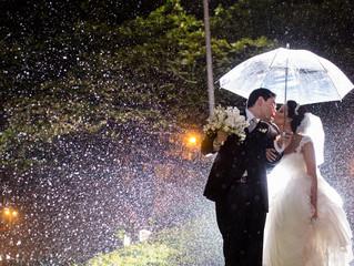 O que fazer quando chove no dia do seu Casamento?