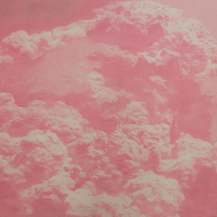 IT'S ONLY THE END OF THE WORLD (No.10) 2012 Oil on Linen 110x110cm