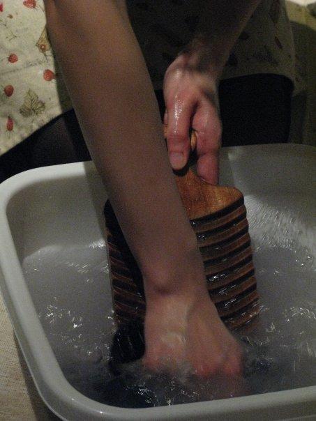 Hand-wash.
