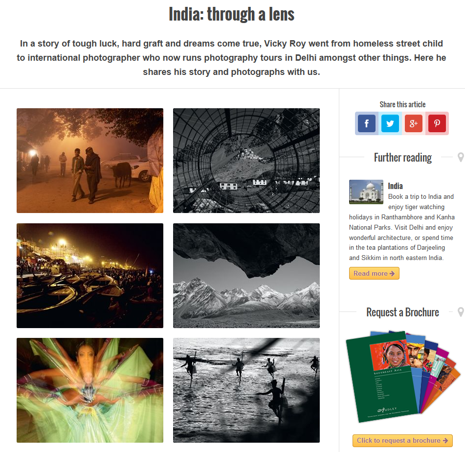 India Through a Lens