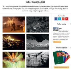 India Through a Lens