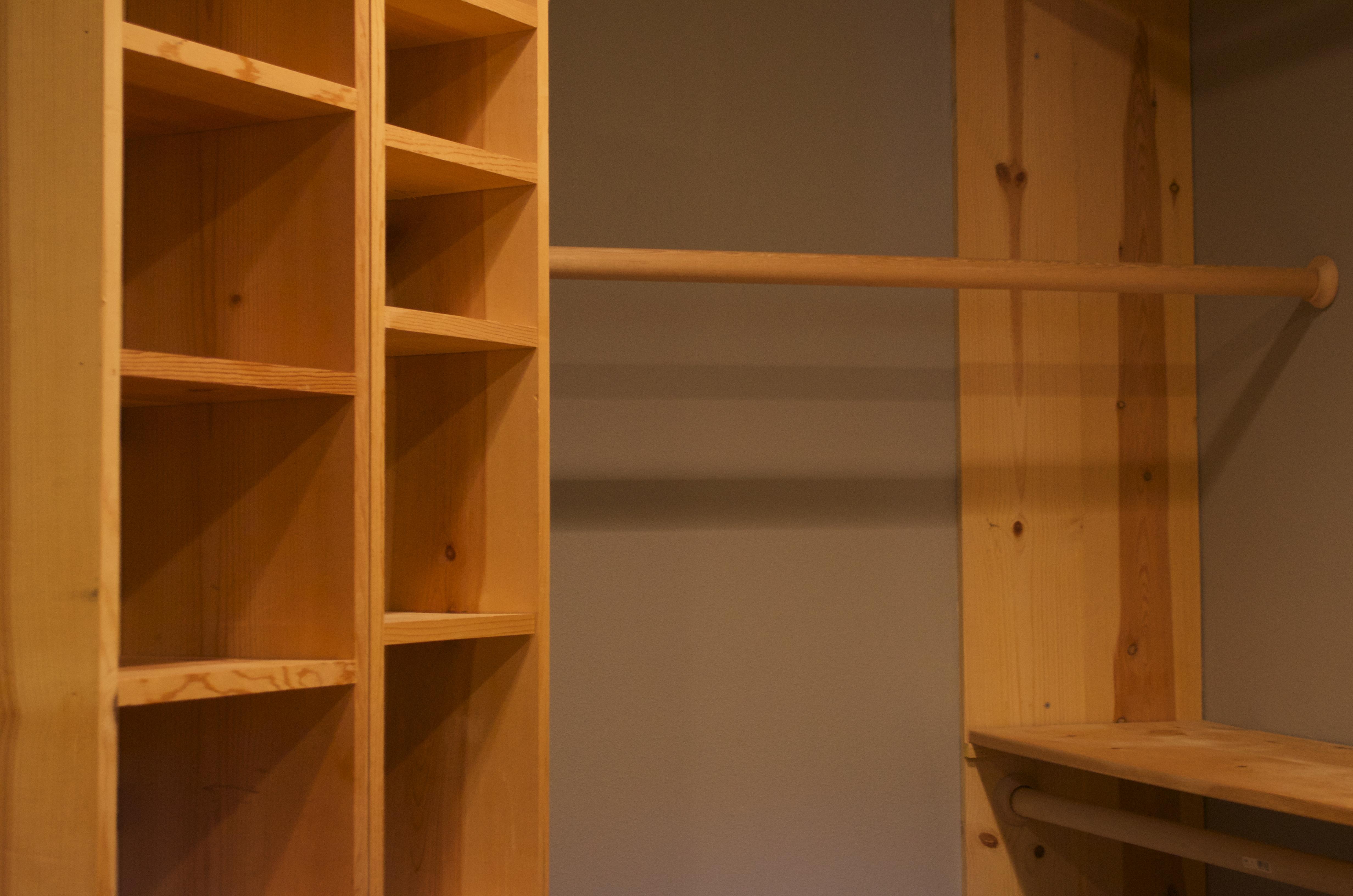 Closet organizers master