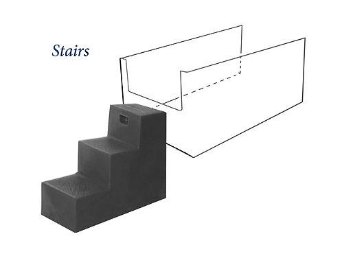 Steps - 3 high