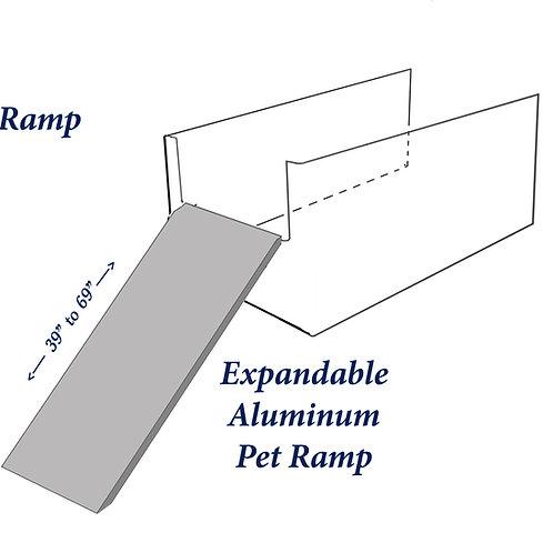 Expandable Aluminum Ramp