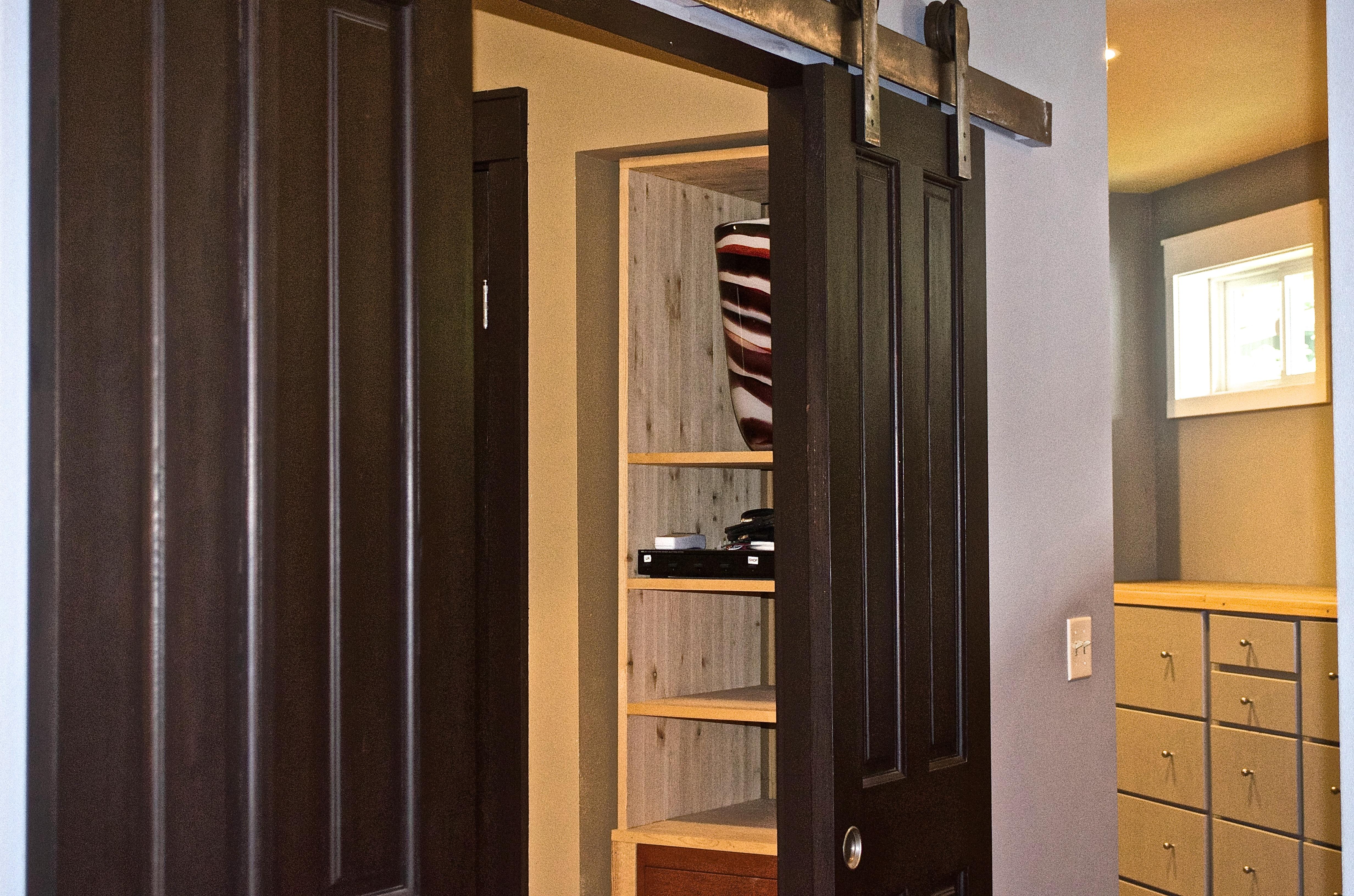 Barn Doors to Master Suite