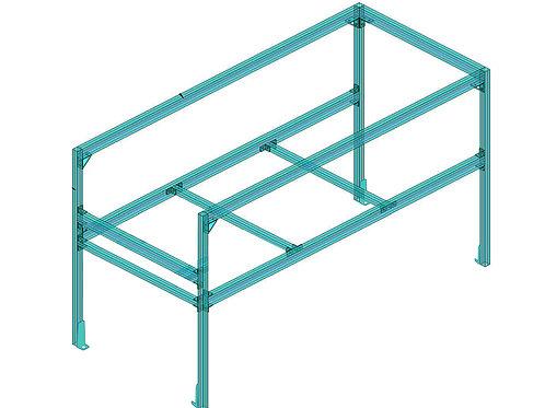 Aluminum Frame Base