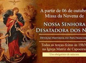 Missa da Novena de Nossa Senhora Desatadora dos Nós