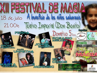 Festival de Magia en el Teatro Imperial de Don Benito