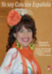 """fotos del espectaculo """"Yo soy cancion española"""" de Rosario Abelaira"""