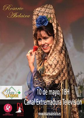 Fotos de la actuacion de Rosario Abelair en el Tributo a Juanita Reina
