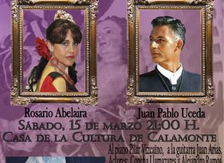 Suspiros de Copla para iniciar la ferias y fiestas de San José 2014 en Calamonte