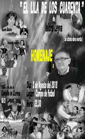 Homenaje a Isidro Leyva