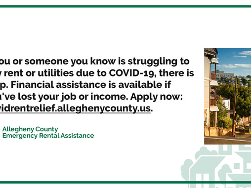 New Emergency Rental Assistance Available
