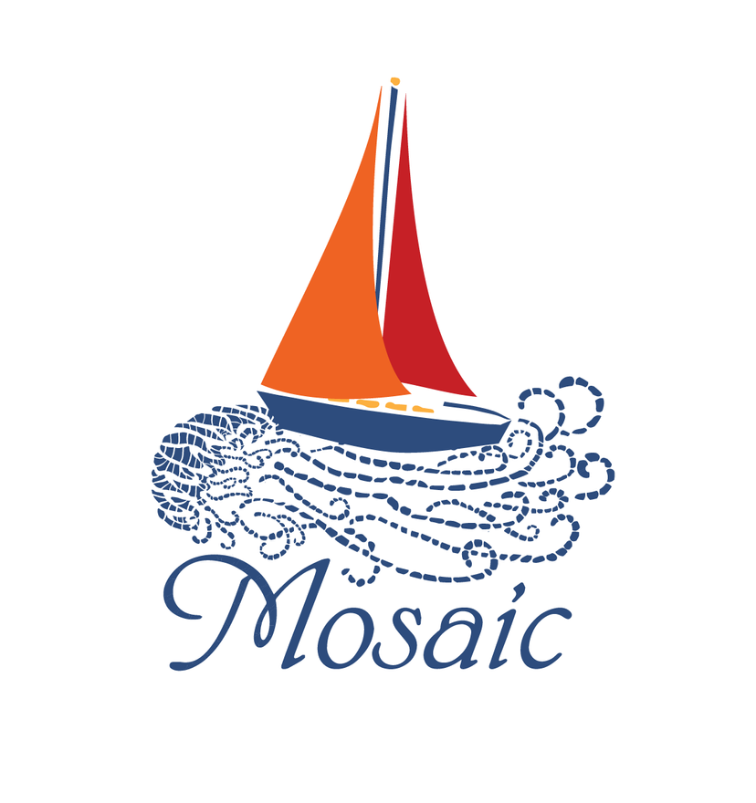Mosaic Sailboat