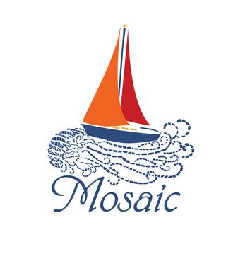 Mosaic Sailboat