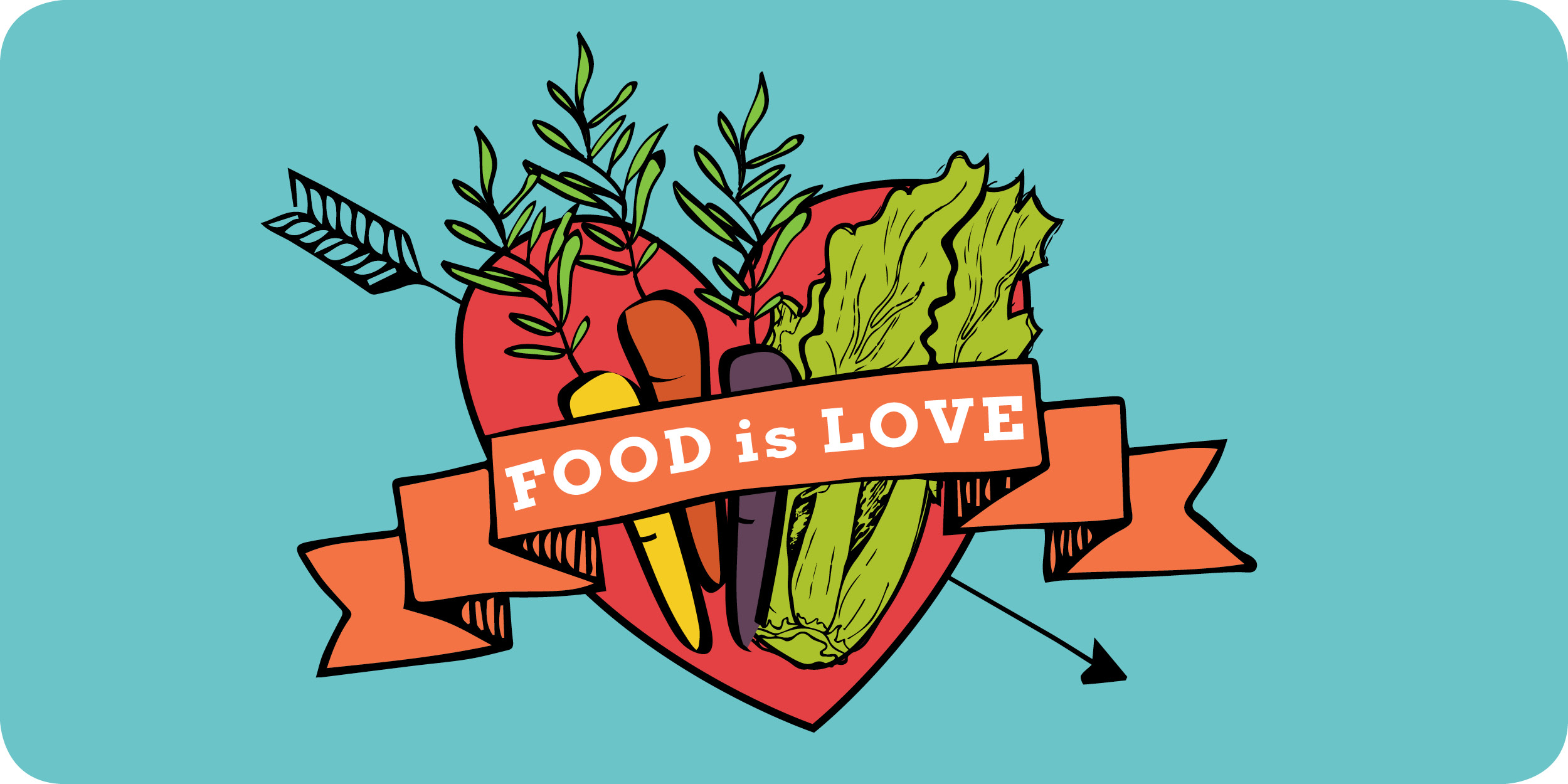 Email Header - Food is Love 2018