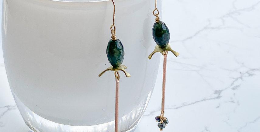 Stamen Stick Earrings
