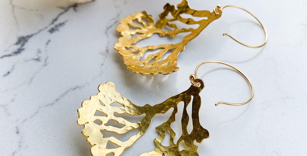 Seaweed Lace Earrings