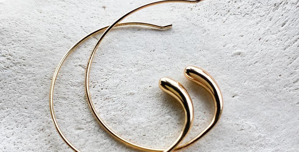 Minimalist Element Hoops