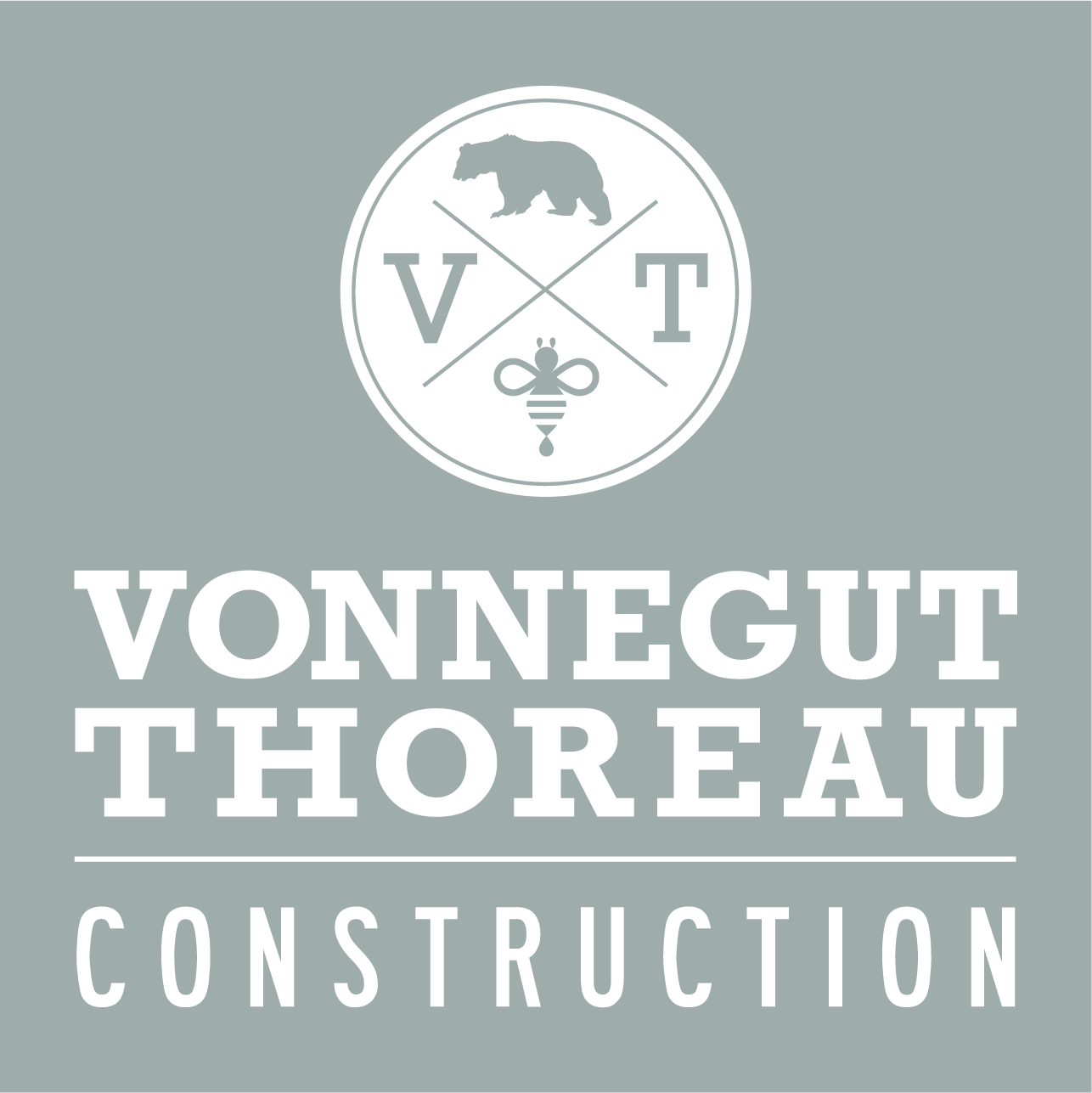 Vonnegut Thoreau_Grey Box White Logo