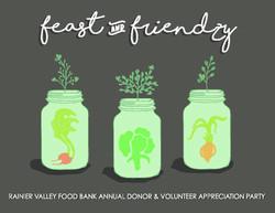 feast and friendzy 2017 artwork