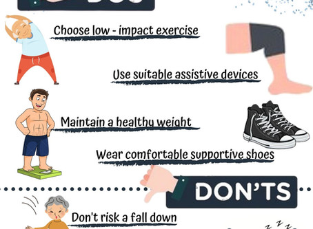 Here is a same list of the Do's and Don'ts for Knee Pain!!!!!!