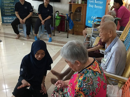 Another Visit in Ipoh Old Folks