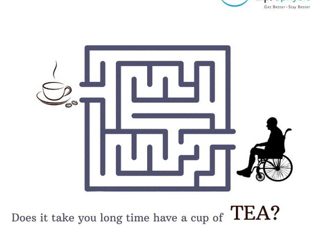 How long do you take to reach for a cup of tea?