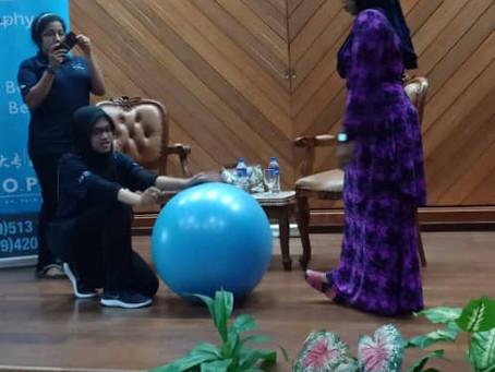 Ceramah Kesedaran Sakit Belakang di TUDM Pahang
