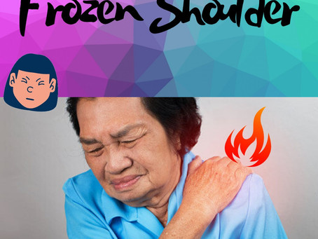 Quick learn about Frozen Shoulder in 1 minute❗️❗️