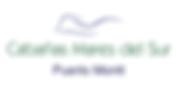 Logo Cabañas Mares del Sur