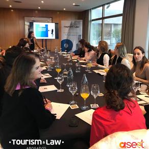 #ASEETEspaña se capacita en charla sobre protección de datos en turismo.