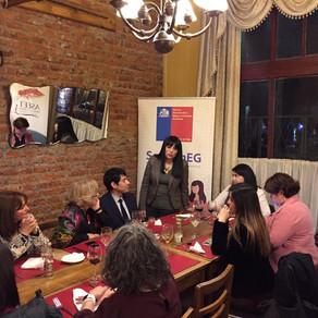 Socias de ASEET Magallanes participan en cierre de programa formativo de mentoras.