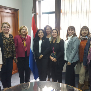 AFEET Paraguay se reúne con ministra de Turismo Sofía Montiel de Afara.