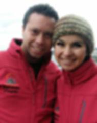 Jorge Solìs Appelgren y Dalma Díaz Pinto. Founders Gastronomía Patagonia