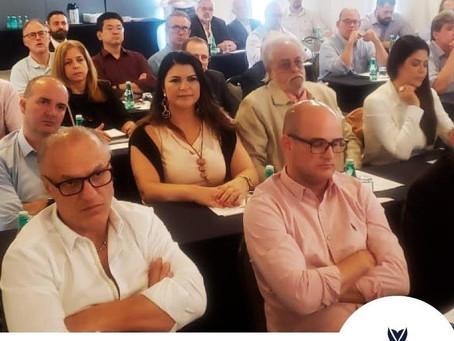 Socia de #AFEETBrasil participa en encuentro de Federación Brasileña de Alojamiento y Alimentación.