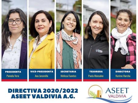 ASEET Valdivia elige directiva 2020-2022.